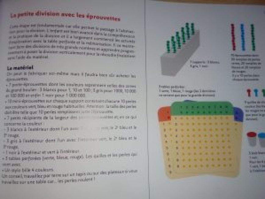 montessori mathématiques pas à pas