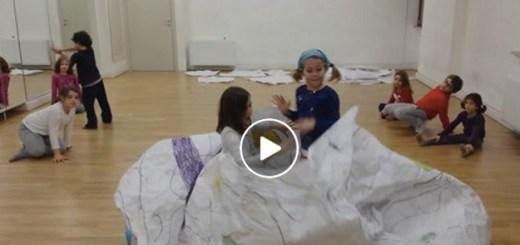 éducation artistique danser enfants