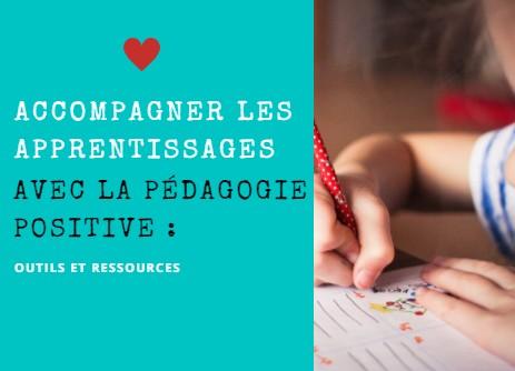 apprendre avec la pédagogie positive