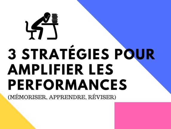 AUGMENTER LES PERFORMANCES APPRENDRE