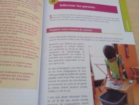 livre pédagogie montessori maternelle école publique