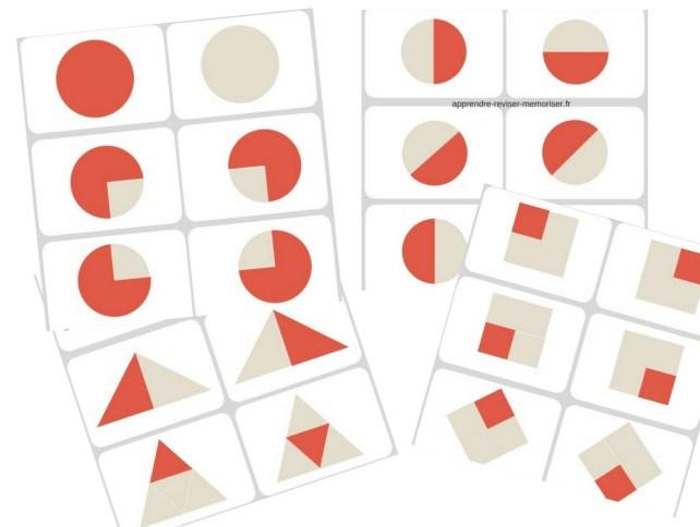 jeu apprendre fractions