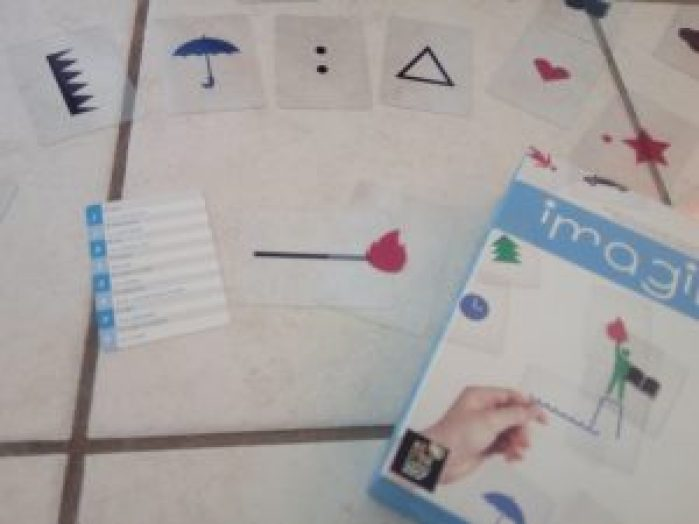 jeu créativité enfants