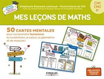 coffret leçon maths cartes mentales