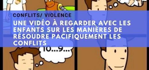 vidéo enfants résolution de conflits