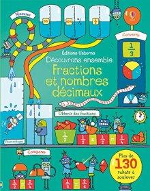 livre enfant fractions et nombres décimaux