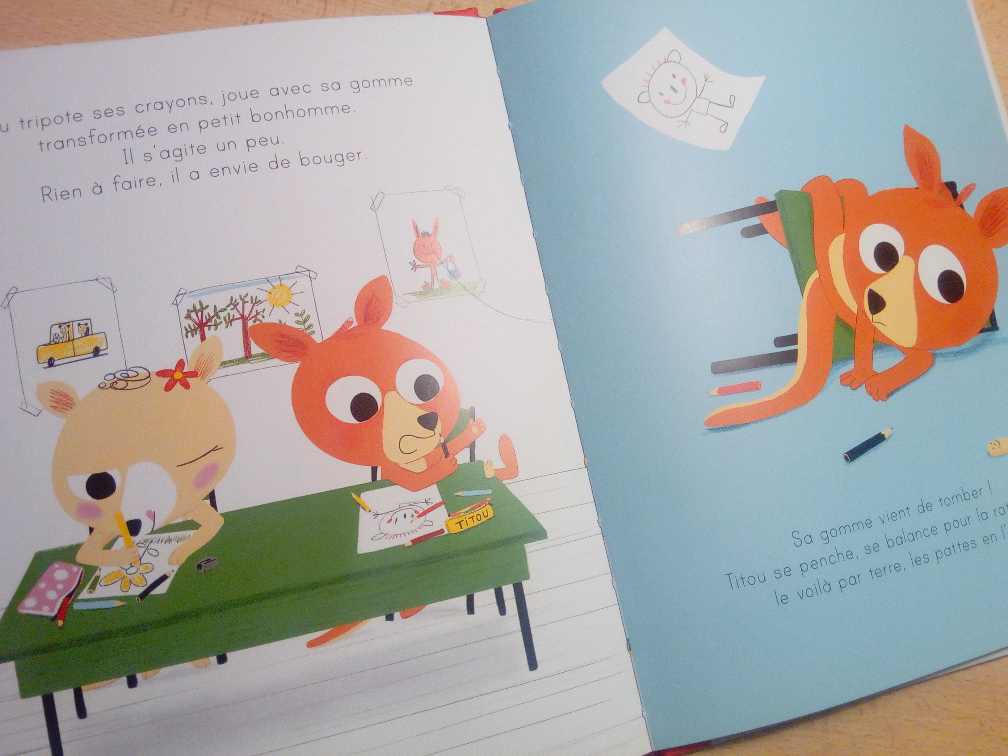 livre enfant apprendre se concentrer