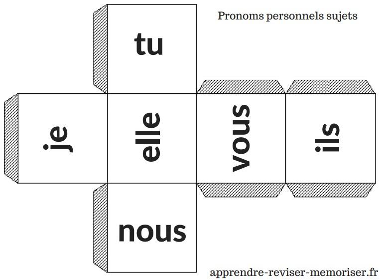 Les Des De Conjugaison Reviser Les Terminaisons De Conjugaison En Jouant