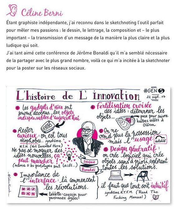 exemple apprendre sketchnote