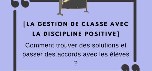 gestion de classe discipline positive