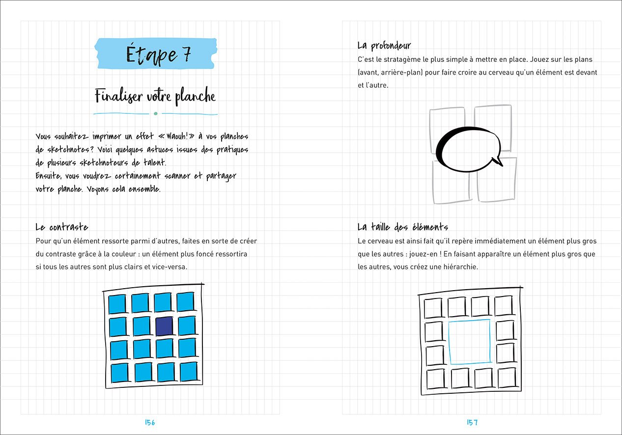 livre apprendre sketchnoting