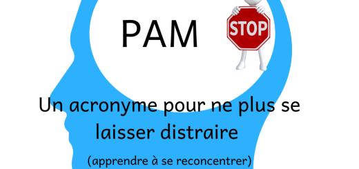 PAM _ un acronyme pour ne plus se laisser distraire (apprendre à se reconcentrer)