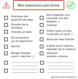 ressources anti stress