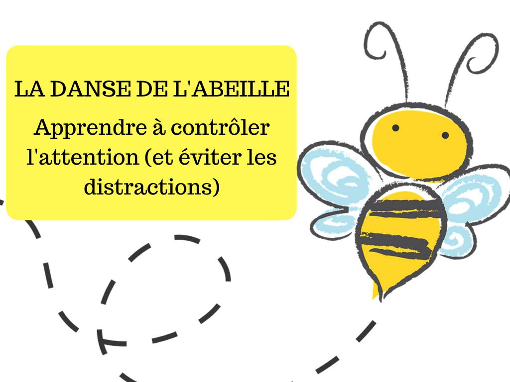 abeille regard concentration