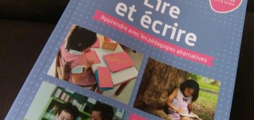 lire et écrire les pédagogies alternatives