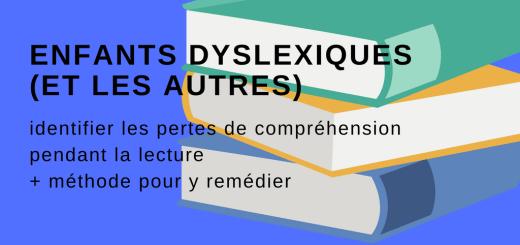 Enfants dyslexique compréhension lecture
