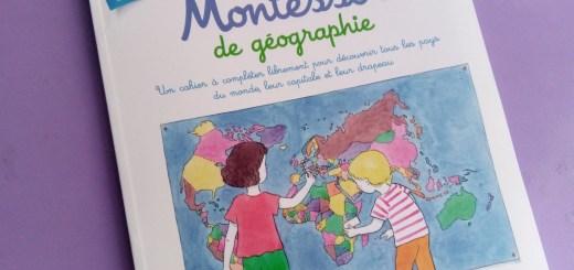 cahier géographie montessori 6 9 ans