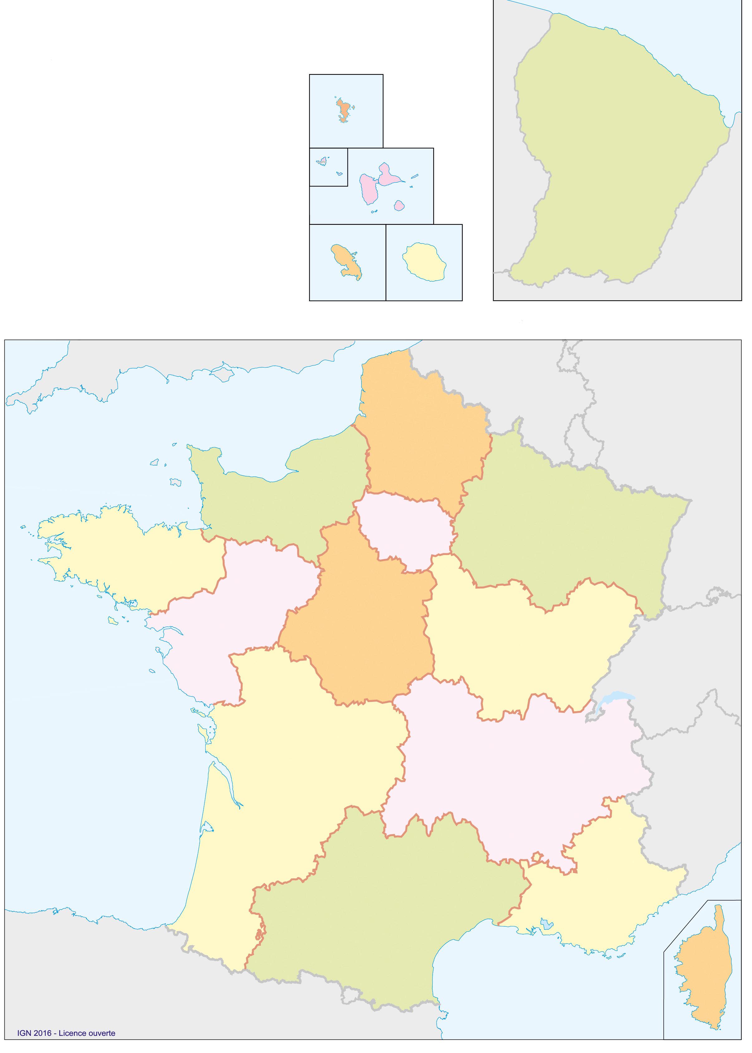 fonds de carte géographie