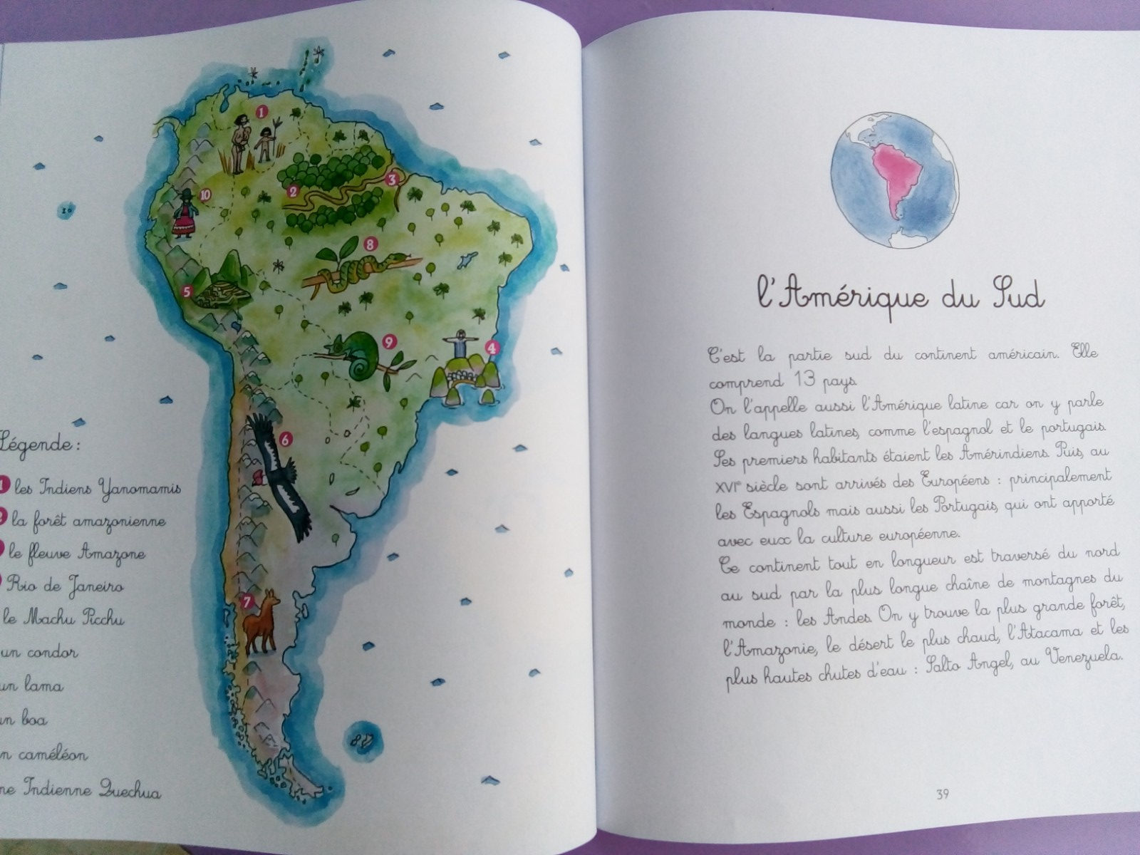 géographie montessori