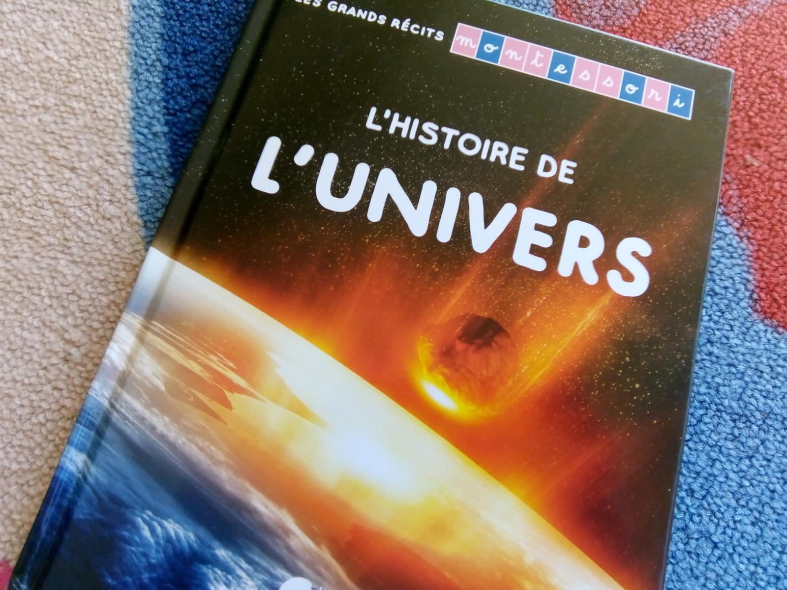 histoire de l'univers enfants