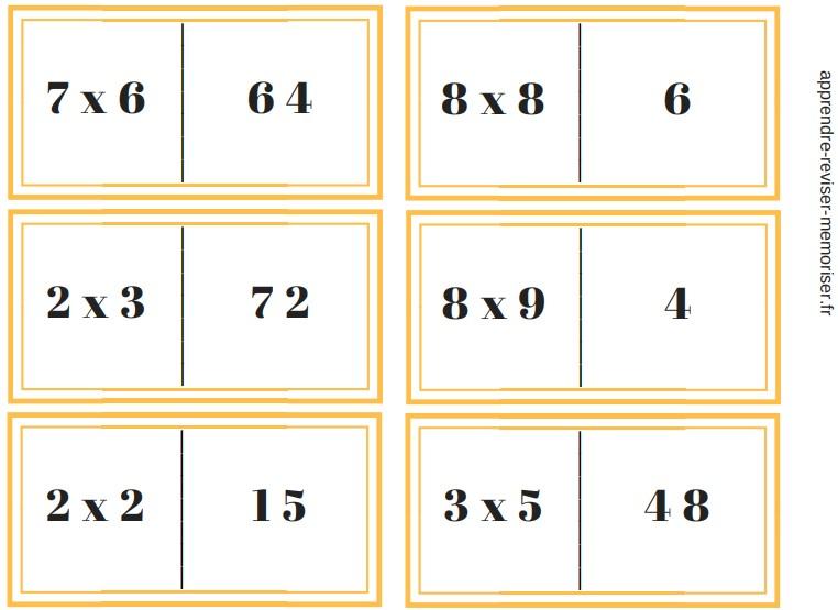 dominos multiplication