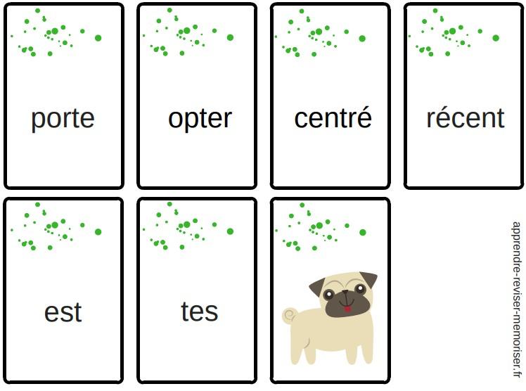 jeu cartes mistigri des anagrammes