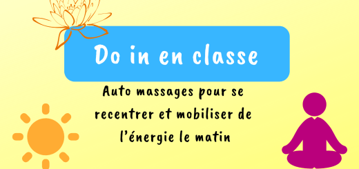 Do in en classe auto massage