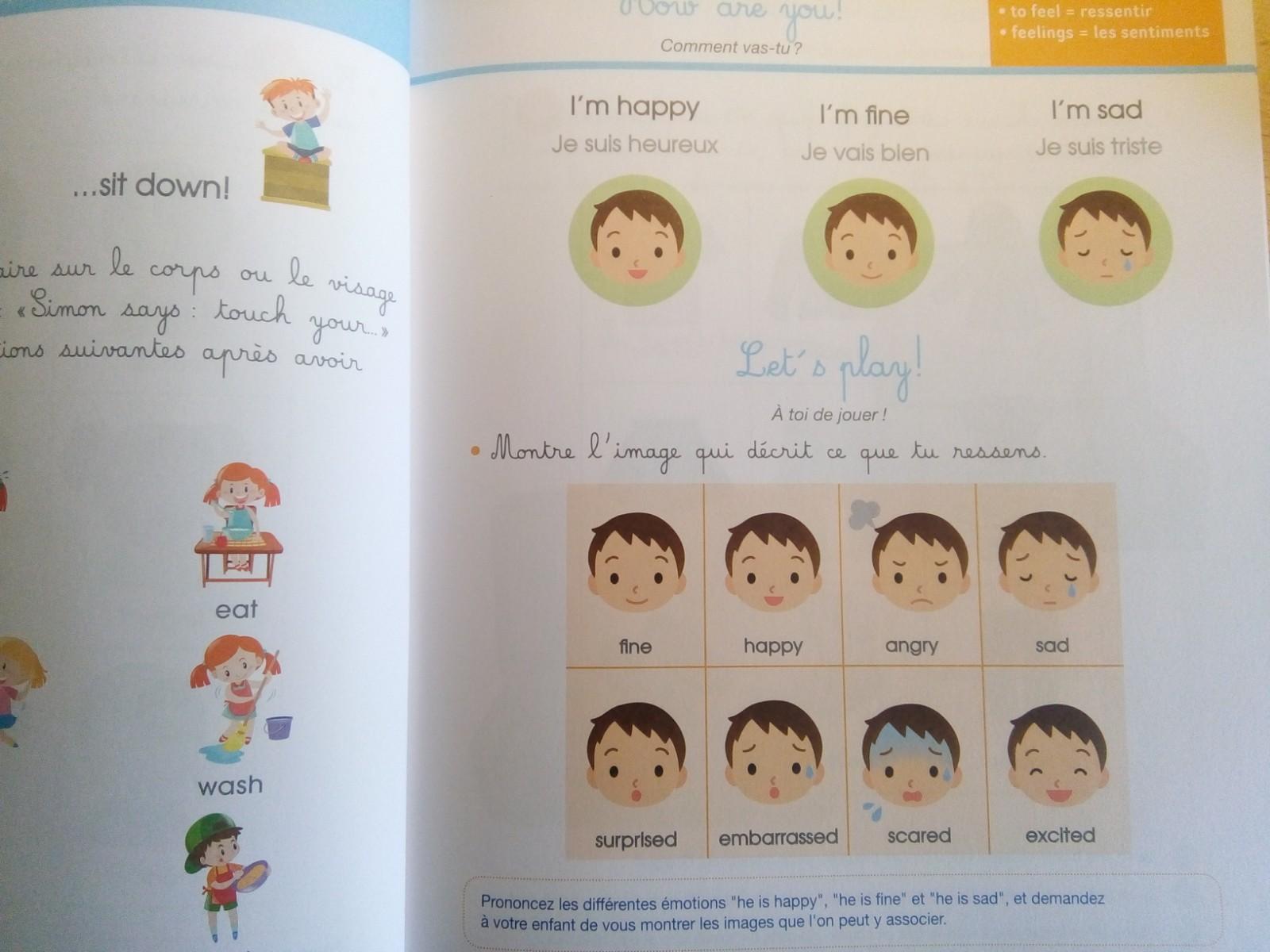 cahier activités anglais montessori