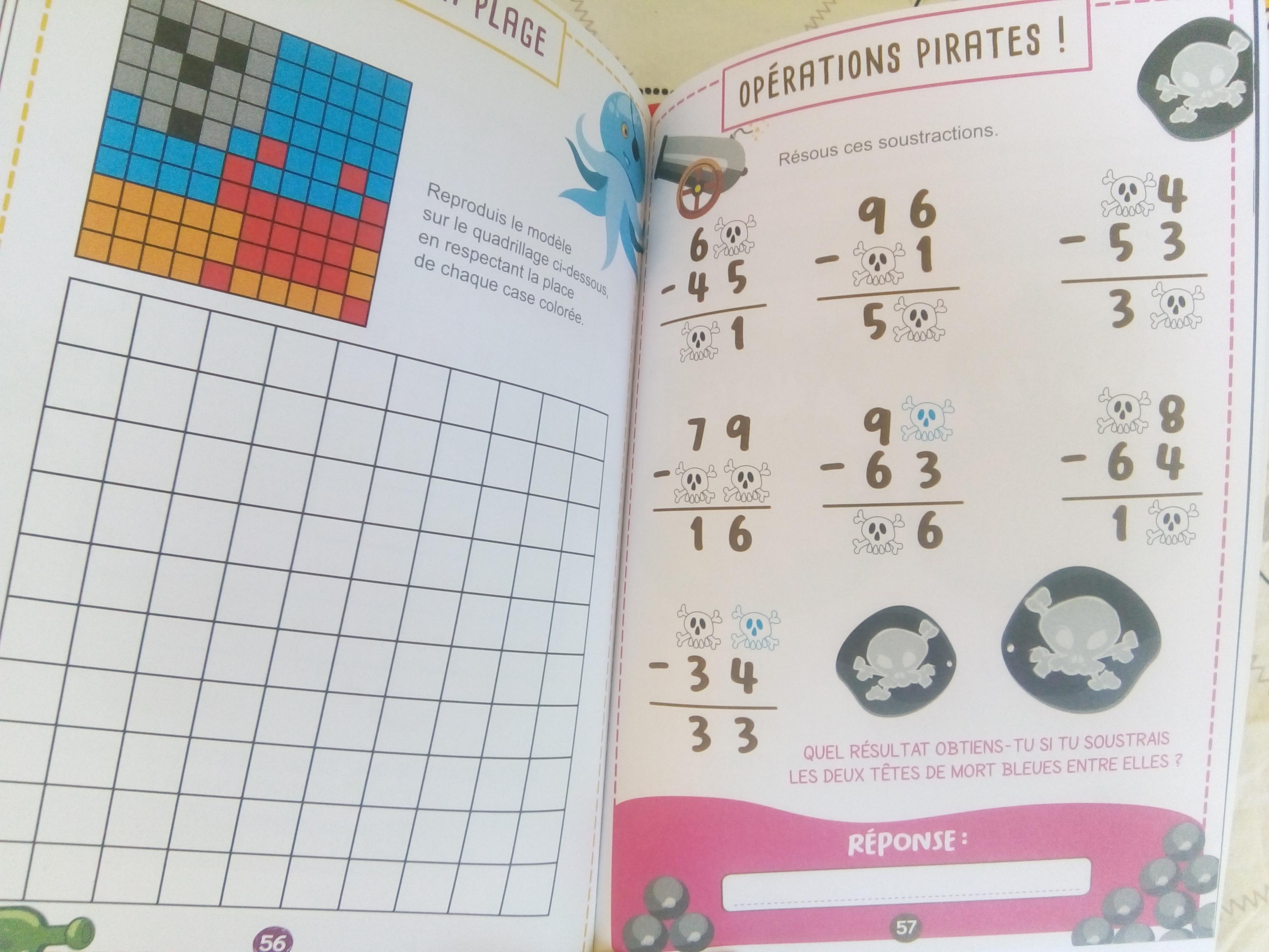 cahier jeux de maths cp ce1