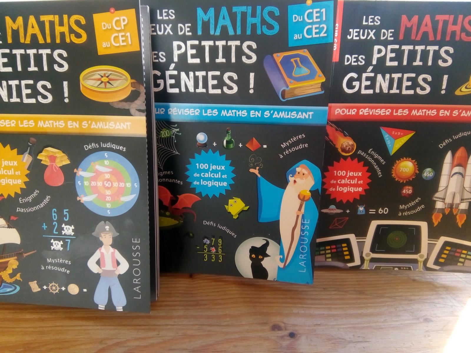 cahiers de jeux de maths primaire