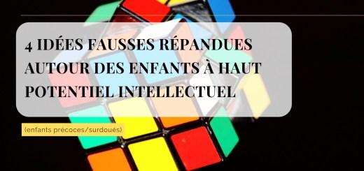 idées fausses enfants haut potentiel intellectuel
