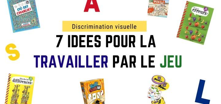 jeu Discrimination visuelle