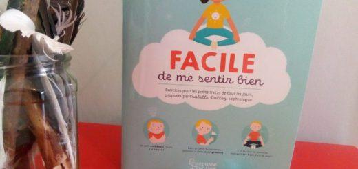 cahier avec des exercices de détente pour les enfants