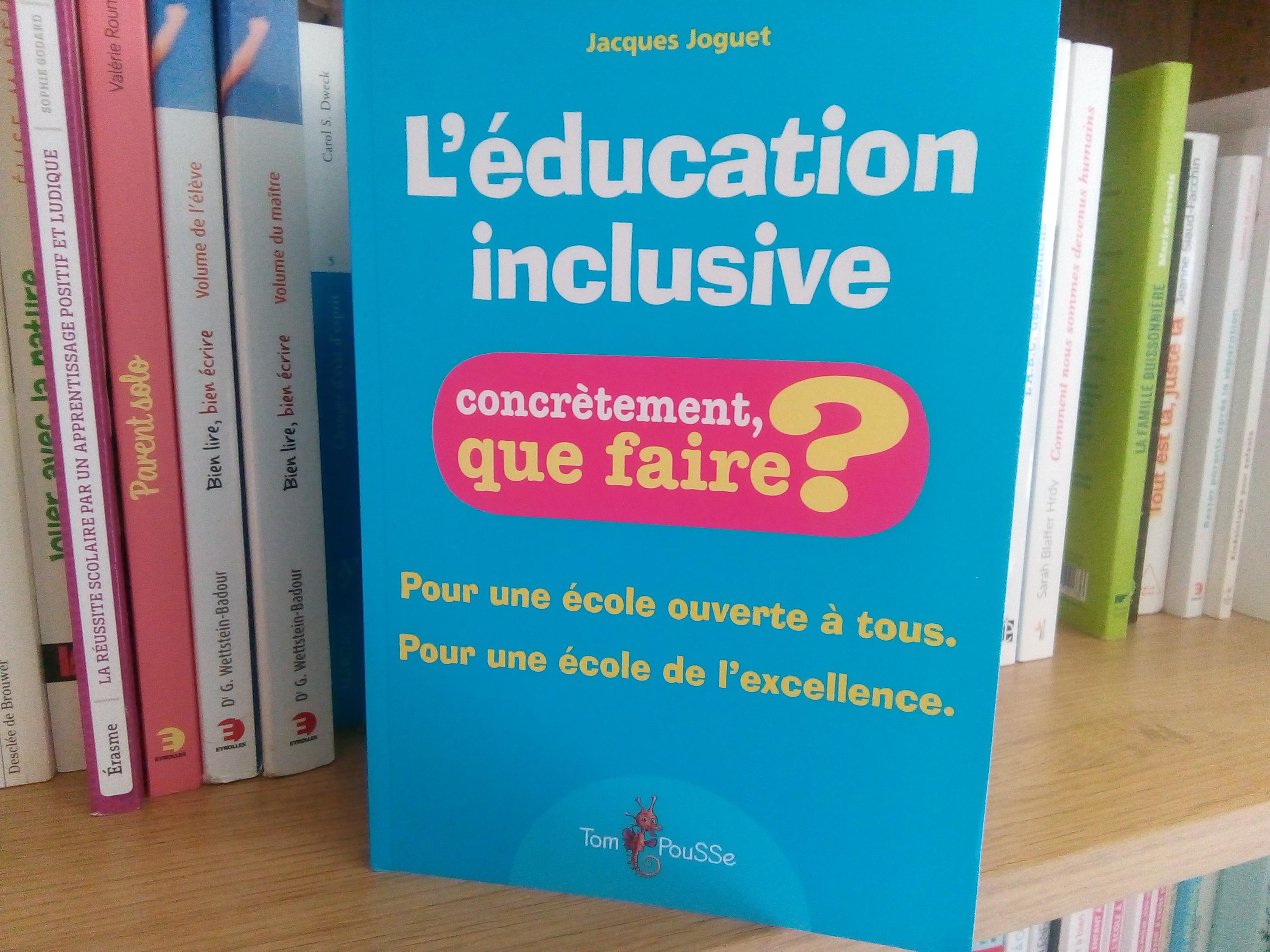 livre école inclusive
