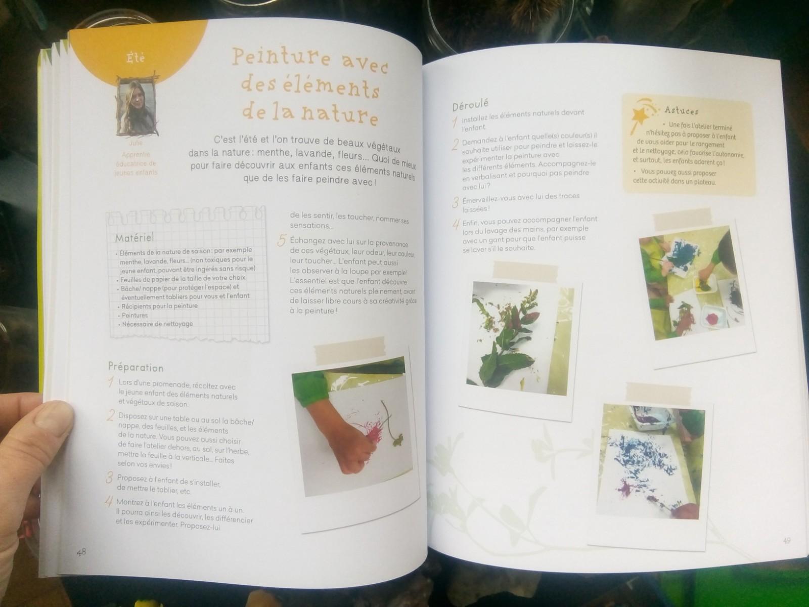 livre activités découverte nature enfants