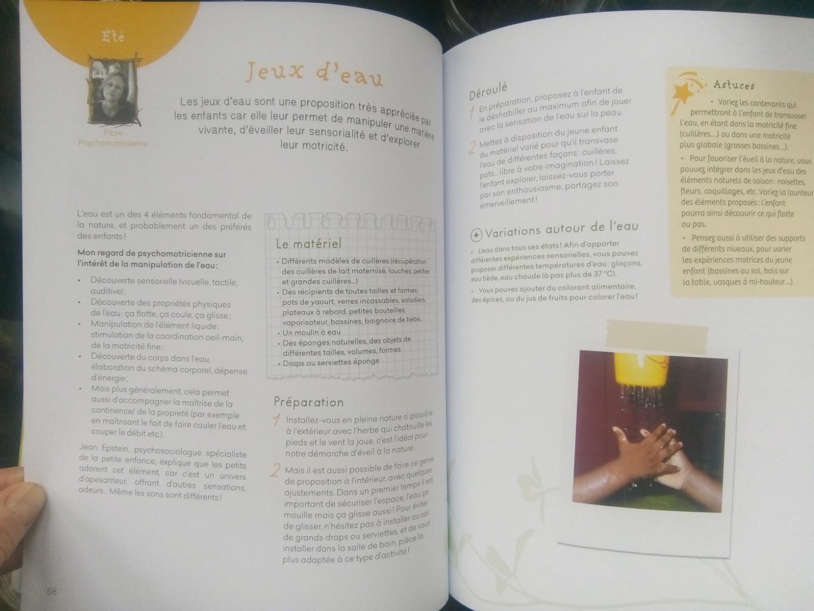 livre activités nature enfants maternelle