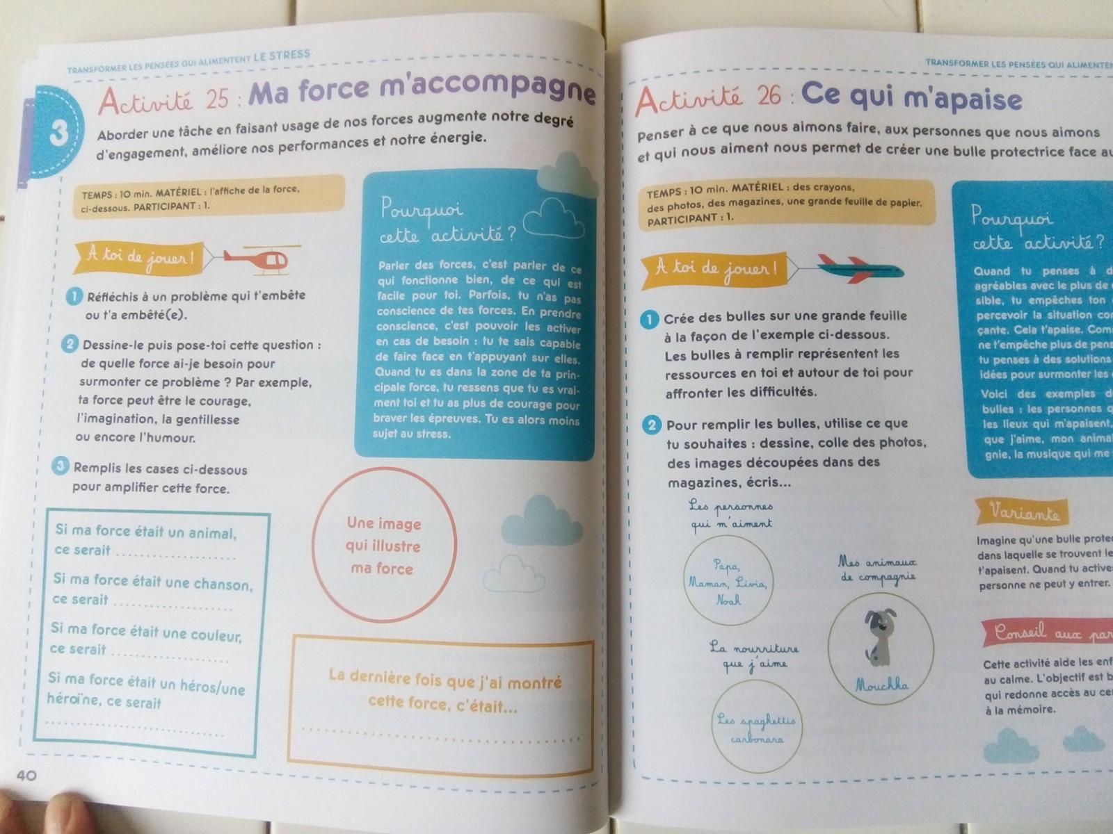 livre anti stress enfants
