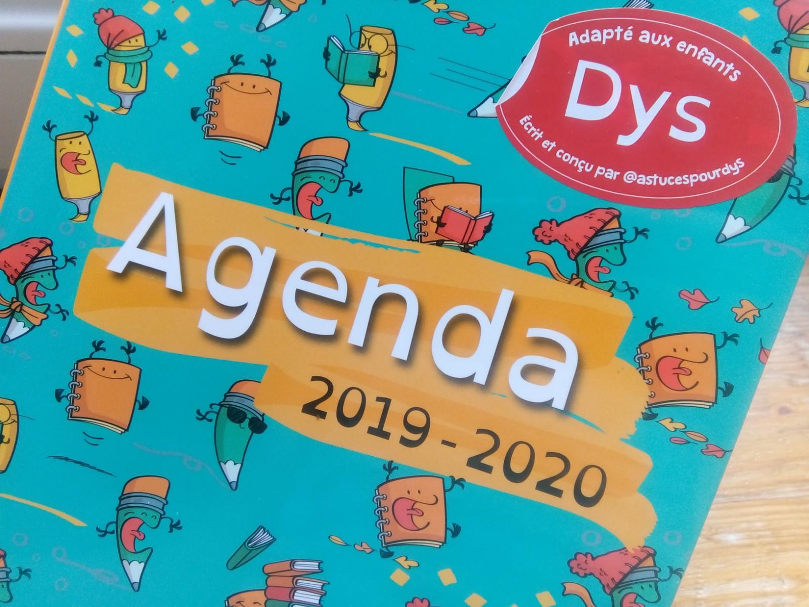 agenda collège dys