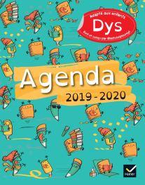 agenda scolaire enfants dys