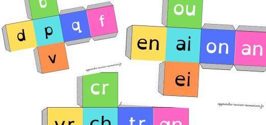 dés syllabes lecture pour les enfants dyslexiques