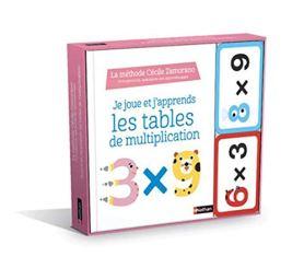 jeu apprendre tables de multiplication