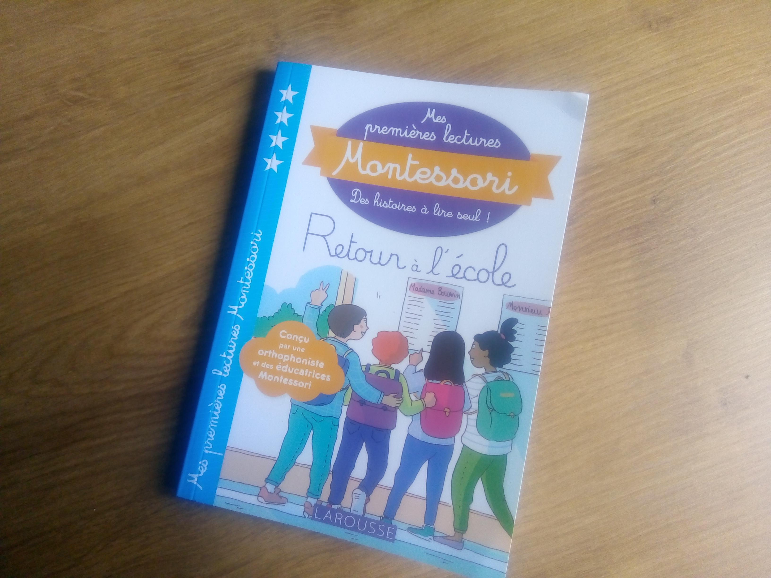 Mes Premieres Lectures Montessori Retour A L Ecole Une