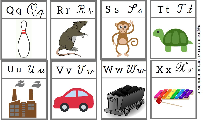cartes sons alphabet maternelle