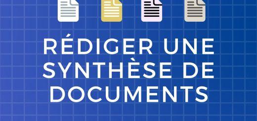 Rédiger une synthèse de documents