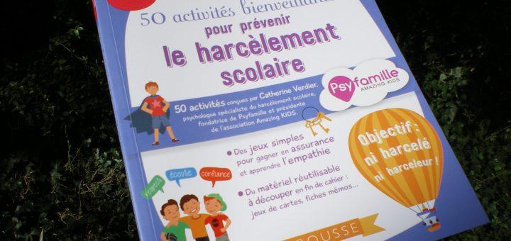 50 activités bienveillantes prévenir harcèlement école enfants