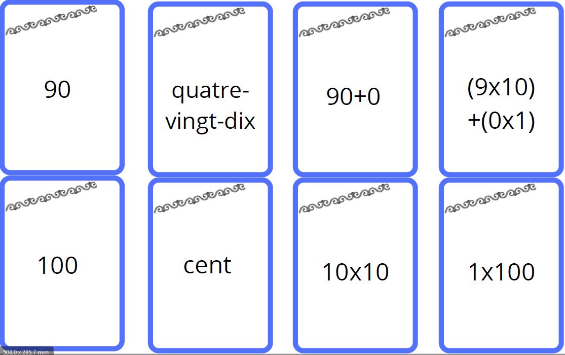 jeu bataille des nombres enfants mathématiques