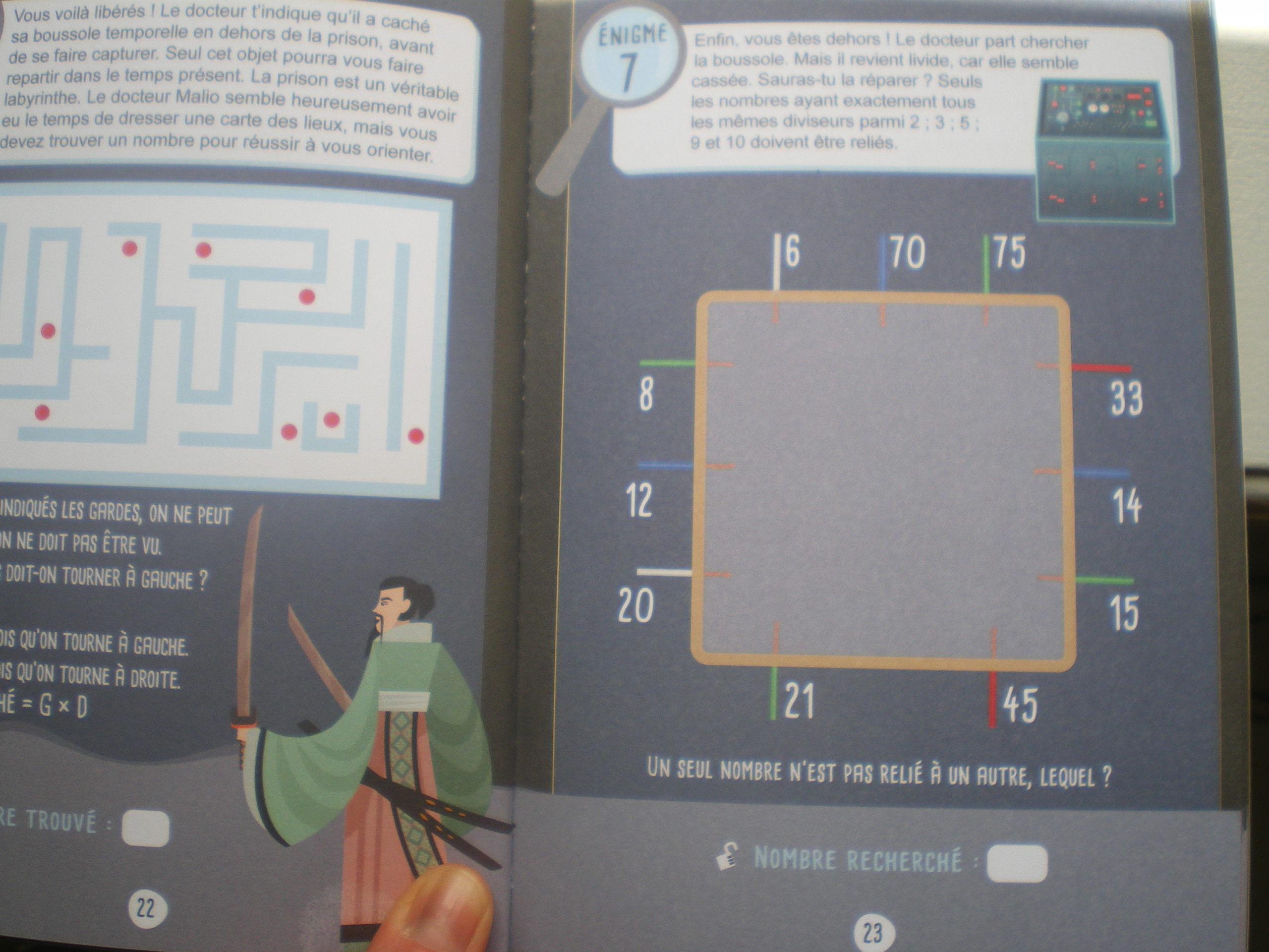 cahier réviser maths 6°