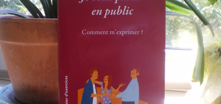 cahier exercices pour parler en public