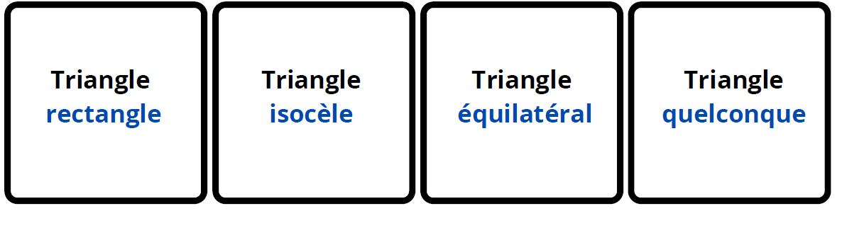jeu association cartes triangles