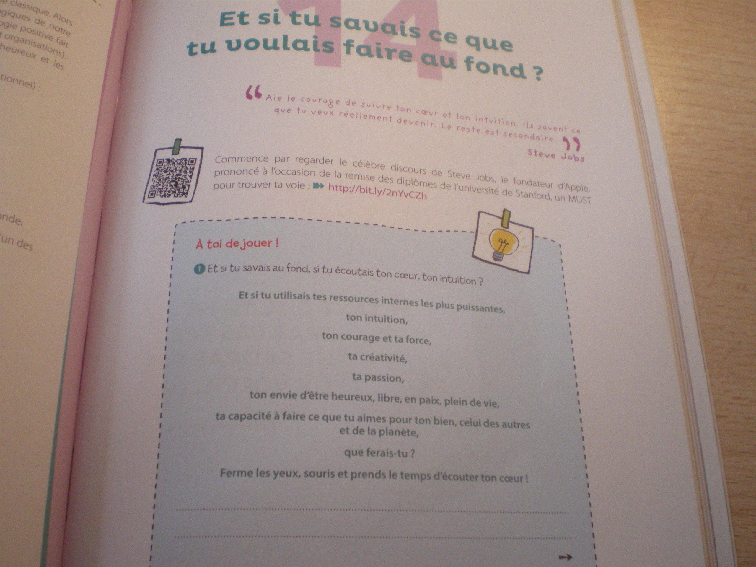 carnet activites orientation lycéens étudiants